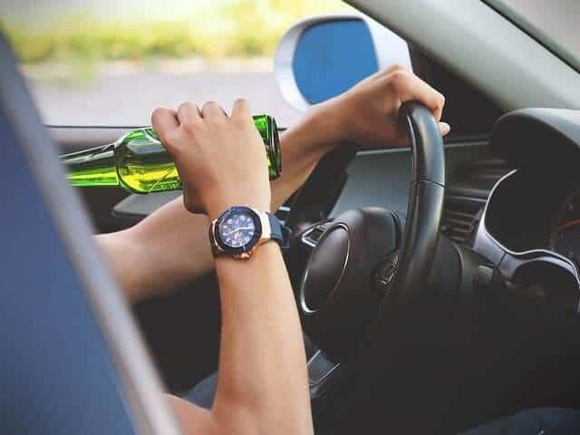 עבירות תנועה - נהיגה בשכרות