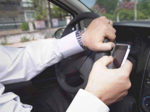 שימוש בטלפון בזמן נהיגה | דוח על טלפון | עו